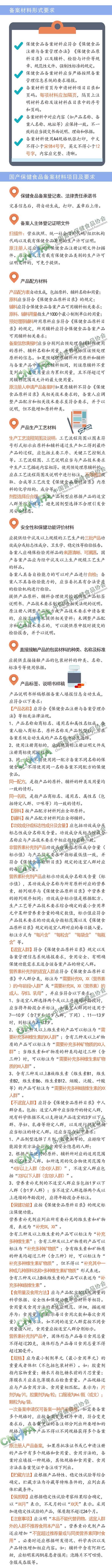 一图读懂保健食品备案工作指南(试行)3-2