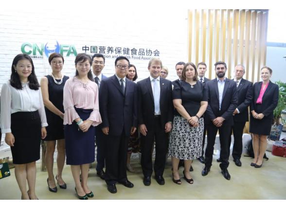 新西兰乳制品公司协会(DCANZ)访问中国营养保健食品协会