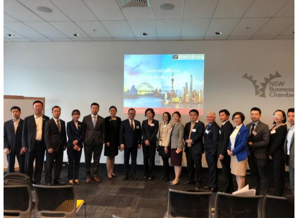 中国营养保健食品协会组团赴澳进行访问交流
