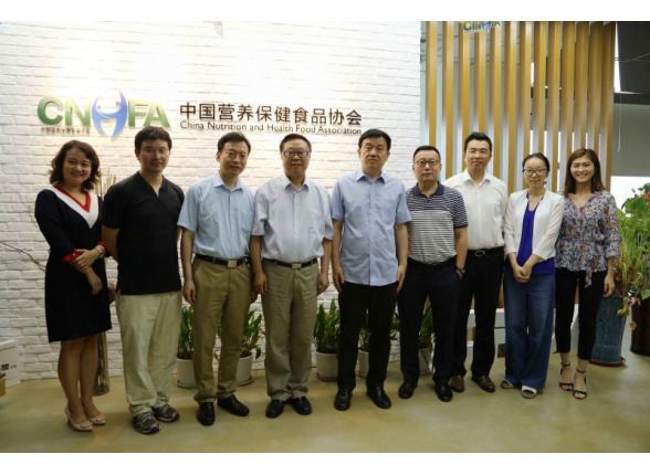 原国家食品药品监管总局国合司袁司长一行到访协会